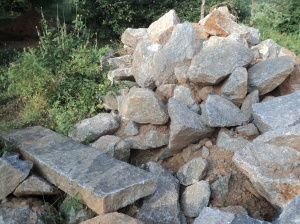 Kar1-Abundance of good quality granite stone