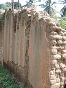 Karnataka5-Adobe Walls with 1.5 inch mud plaster