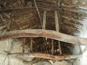 Telangana6-Neem Wood Roof truss with moving joints