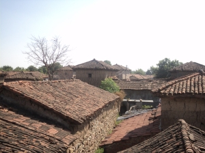 Telangana8-Play of the roof scapes of hollow intelocking clay tiles