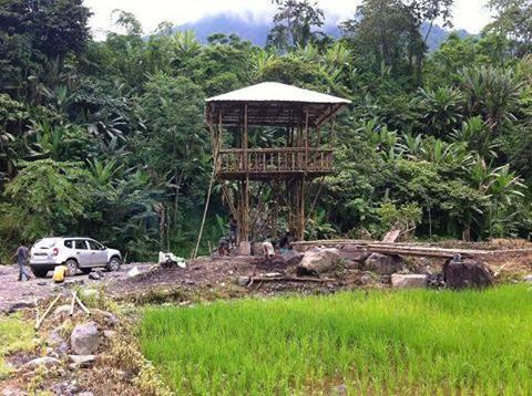 Structural Bamboo Tower, Tuensang, Nagaland, India