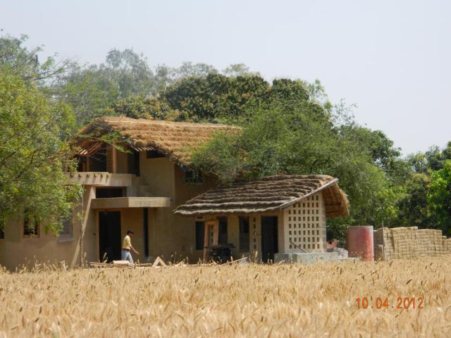 Adobe House, Karnal, Haryana, India