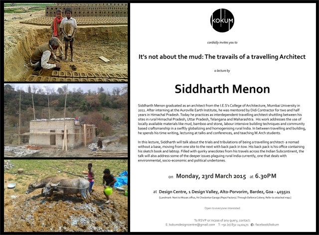 Lecture_Siddharth-Menon_KOKUM_23rd-March